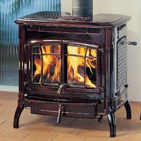 Wood stove photo